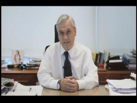"""Sebastián Piñera: """"El Gobierno tiene que actuar con mayor firmeza contra la delincuencia"""""""
