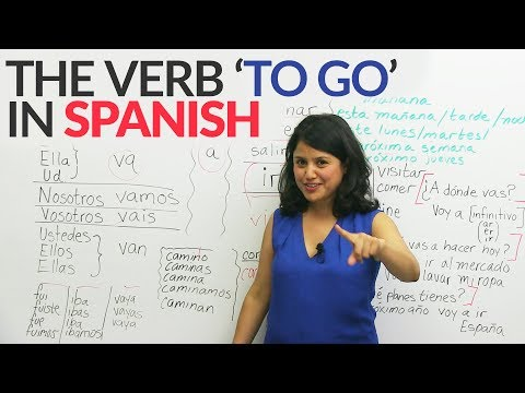 """Learn Spanish: The verb 'TO GO' """"IR"""" """"VOY"""" """"VAS"""" in Spanish made easy"""