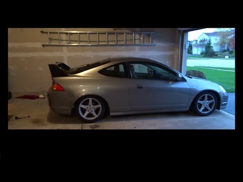 RSX Gets New Wing MAD DOWNFORCE YouTube - Acura integra type r wing