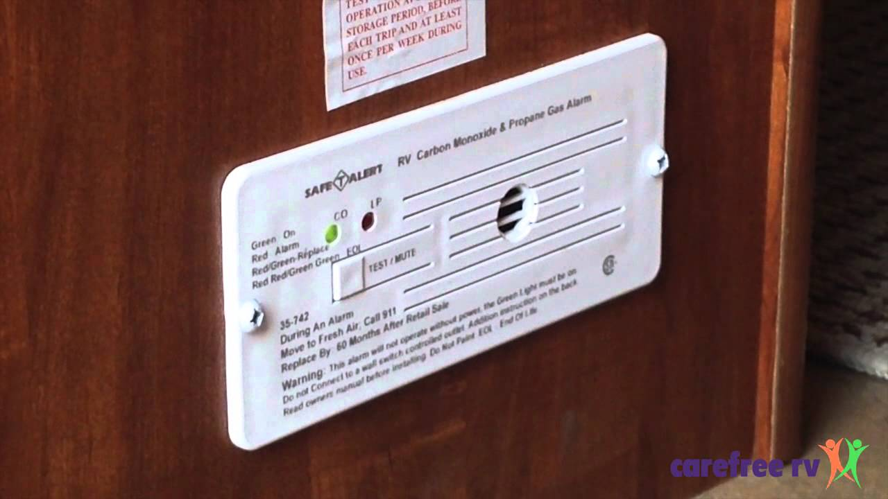 How To Test Your Rv S Carbon Monoxide Detector Youtube