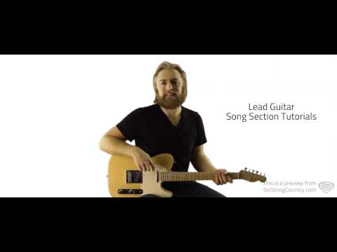 Cast No Stones Cody Jinks - Guitar Lesson and Tutorial