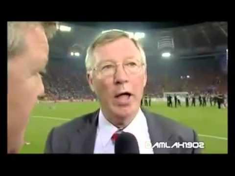 Temuramah Bersama Alex Ferguson