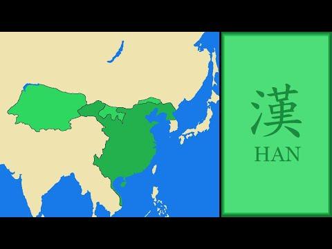 han dynasty map of china History Of Han Dynasty China Every Year Map In Chinese han dynasty map of china