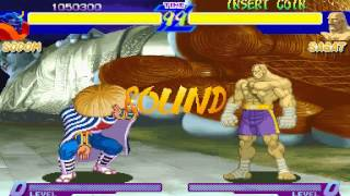 Street Fighter Alpha - Sodom Playthrough - Max Difficulty