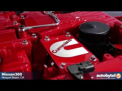 Nissan Cummins Diesel Engine Preview - 5.0 Liter V-8 Turbo-Diesel for the Next Gen. Titan Truck