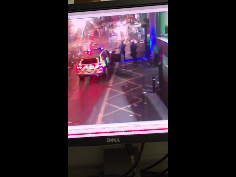 London Police shooting the 3......viewer discretion is advised