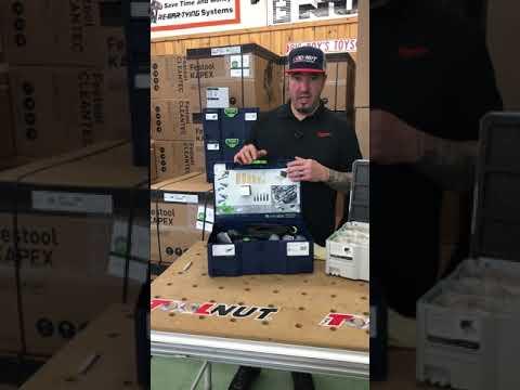 [NEW] Festool 576693 Emerald Edition DF 500 Domino Jointer Set W/FREE 3-Piece Cutter Set