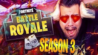 ON THE BIG SEASON 3 OF FORTNITE! PASS BATTLE AND NEW