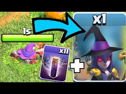 """BAT + WITCH COMBO!! """"Clash Of Clans"""" NEW UPDATE 2018!!"""