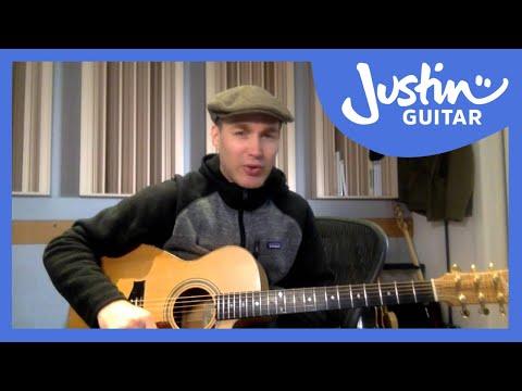 JustinGuitar Live Show [Beginner Hour] 23rd Jan 2016 - YouTube