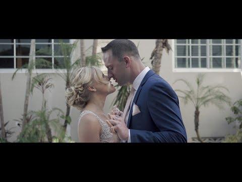 Cori + Tom Wedding At The Kimpton Surfcomber Hotel