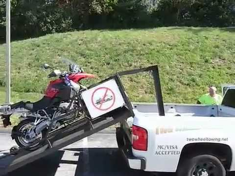 How to tow a Motorcycle  | 1.888.BMW.BOB'S | BMW Motorcycle dealer in MD