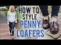 HOW TO STYLE PENNY LOAFERS (PREPPY FALL LOOKBOOK) || Kellyprepster