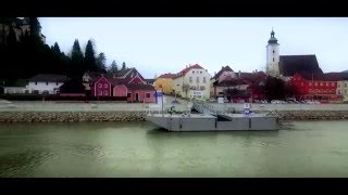 Aerial Video Footage - Grein an der Donau
