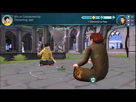 Harry Potter Hogwarts Mystery - Dating Jae Answers Walktrough Gameplay