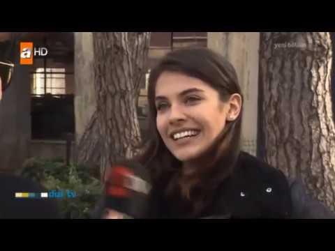 Biran Damla Yılmaz ve Burak Tozkoparan Dizi TV röportajı