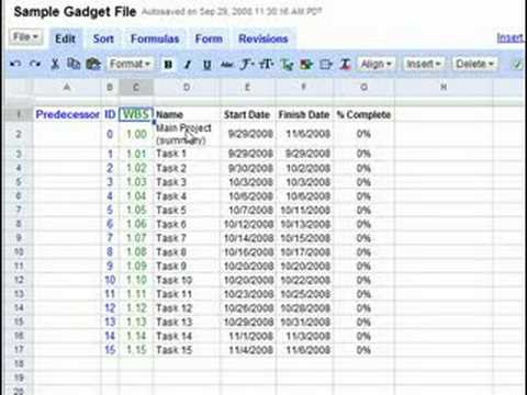also making  gantt chart with google docs youtube rh