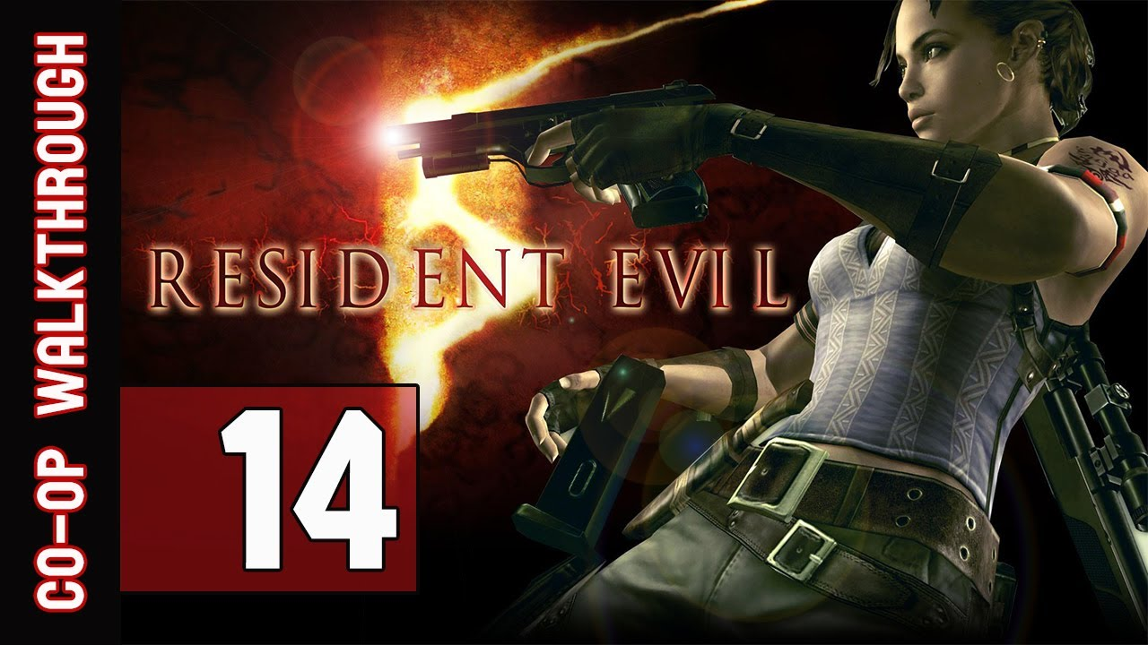Resident Evil 5 Walkthrough Part 14 Gameplay Commentary Co Op Youtube