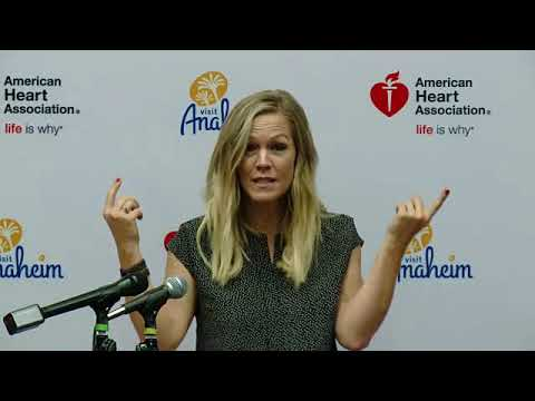 EVENT CAPSULE CLEAN  Jennie Garth Joins Visit Anaheim To Donate Life Saving CPR Kits To Local Anahe