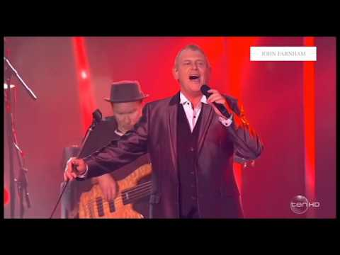 "Closes The 2016 ARIA Awards With ""You're The Voice"""