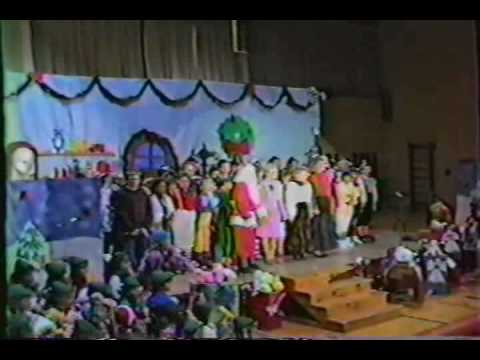 Clinton Valley Elementary School 1987 Christmas Play (P 7of7