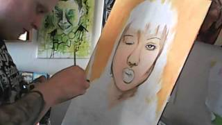 Painting Gogo Yubari