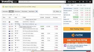 100% Win Binary Option and Forex Sinhala Lesson 7   Economic calendar  { සියළු දේ සිංහලෙන්  }