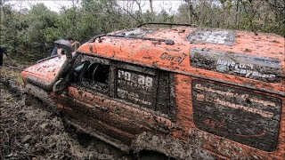 Toyota Land Cruiser 80 vs Land Rover Discovery II  **MONSTERS OFF-ROAD SHOW**