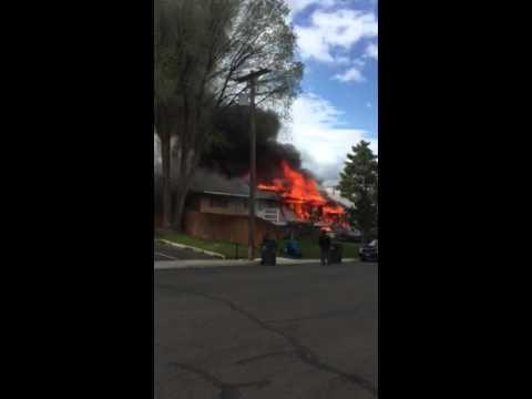 Fire in Elko Nevada