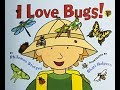 Gambar cover I Love Bugs! By Philemon Sturges