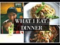 WHAT I EAT FOR DINNER AS A MODEL | COOK WITH ME | HEALTHY + EASY