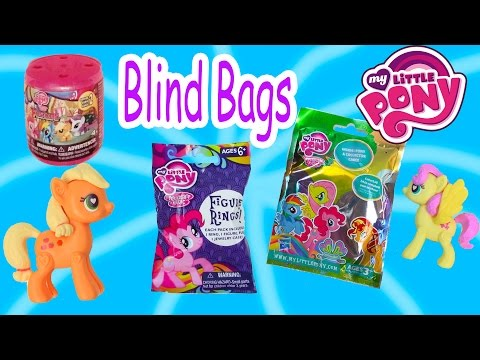 MLP Squishy Fashems Blind Bags Surprise Mystery Ponies Figures My Little Pony Opening Cookieswirlc