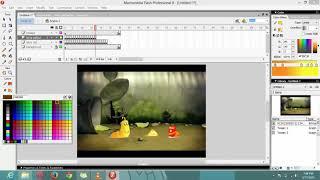 Tutorial Membuat Animasi Larva Menggunakan Macromedia Flash 8