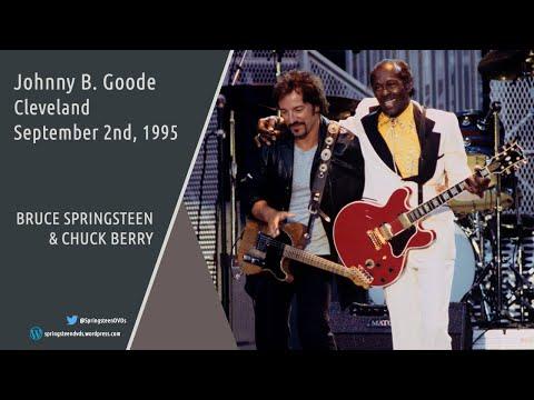 Resultado de imagen de bruce springsteen chuck berry 1995