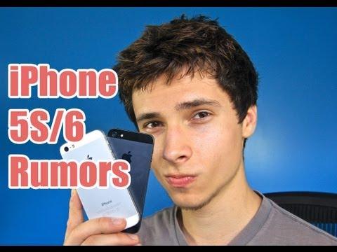 iPhone 6 / iPhone 5S Rumors - Specs, Hardware & Release Date!