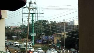 Accident scene Kisumu Kakamega road