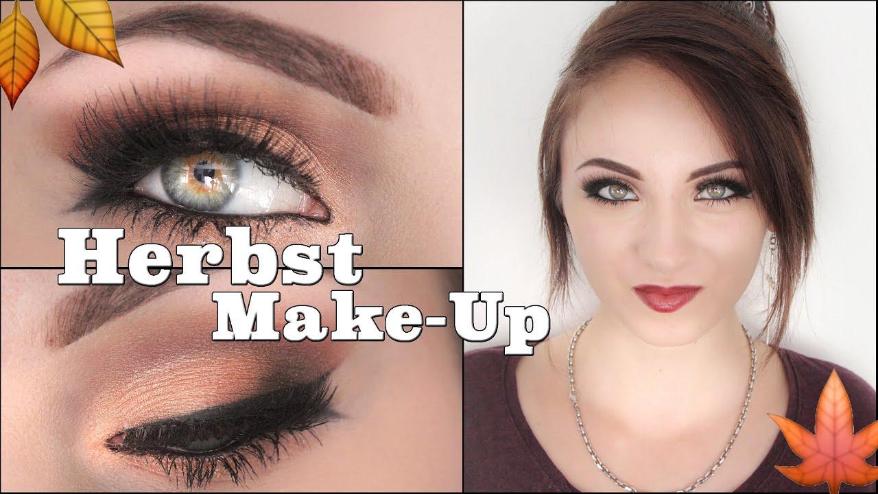 Herbst Make Up : herbst make up 2014 rott ne i hannah black youtube ~ Watch28wear.com Haus und Dekorationen