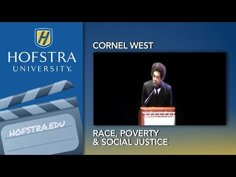Cornel West at Hofstra University