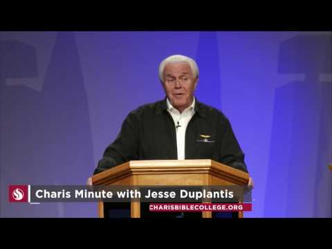 Charis Minute with Jesse Duplantis: When You're at Rest