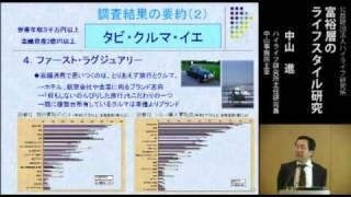 富裕層のライフスタイル研究 thumbnail