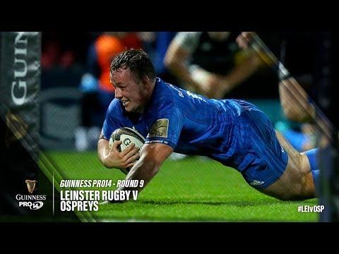 Guinness PRO14 Round 9 Highlights: Leinster Rugby v Ospreys