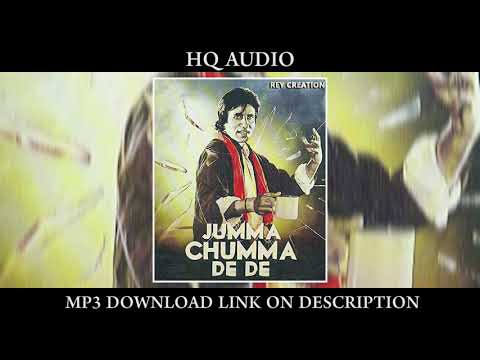 Jumma Chumma De De Trap Beat  | Lyrical | Amitabh Bachchan | Kimi Katkar | Hum/ REY CREATION