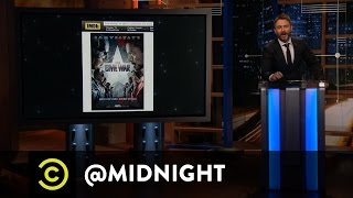 The Midnight Spoil: Civil War - @midnight with Chris Hardwick