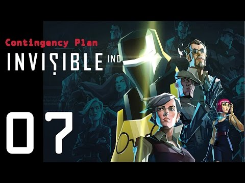Invisible Inc. Contingency Plan 07 - How to escape NINE guards