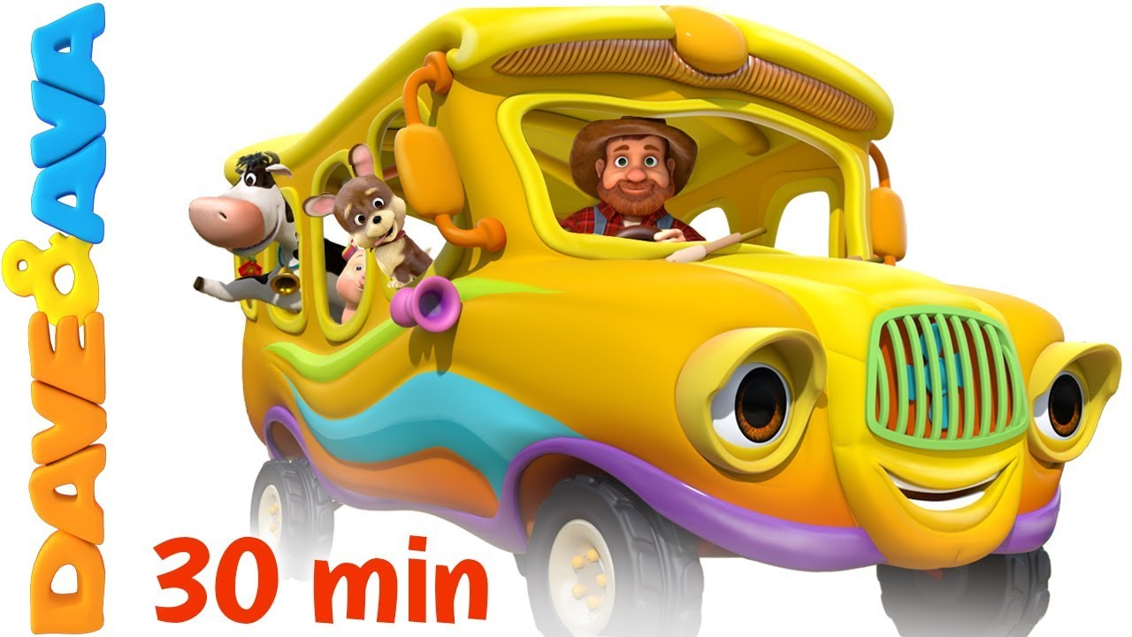 ???? The Wheels on the Bus – Animal Sounds Song   Nursery Rhymes and Kids Songs ????