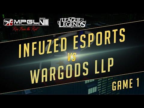 Wargods.LLP vs Infuzed eSports - Mineski Pro Gaming League S8 LoL - Game 1 - [Week 6]