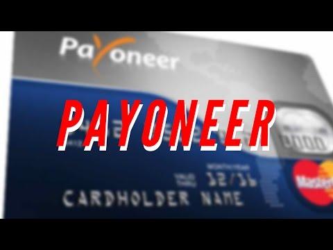 Payoneer|Melhor Cartão Pré