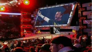 CM Punk comes to Raw