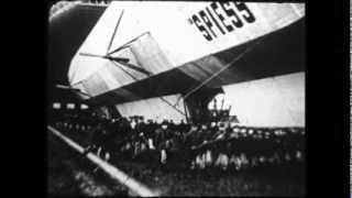 By Dirigible over Paris (1914) / Paris vu d
