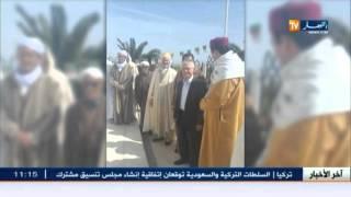 وزير الطاقة الأسبق شكيب خليل في زيارة لزاوية سيدي محي الدين بمعسكر